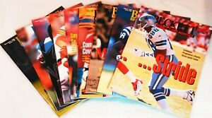Beckett Football Monthly 1995 Back Issues