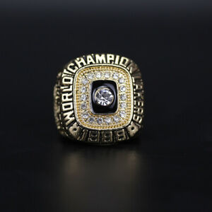 NBA Los Angeles LA Lakers Magic Johnson 1988 Championship Ring with Box