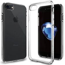 Cover iPhone 7 Spigen Liquid Crystal Custodia trasparente flessibile Silicone