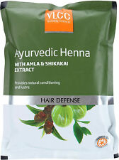VLCC Hair Defense Natural and Herbal Henna With Amla and Shikakai Extracts 100 g