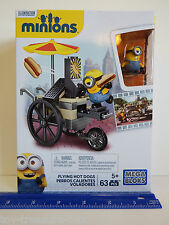 Mega Bloks - Despicable Me Minions - Flying Hot Dogs - 63 pc set - Ages 5 & up