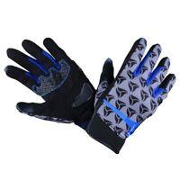 Guantes R-Tech Leopard Verano moto guante de textil Negro/Azul