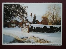 POSTCARD WARWICKSHIRE YEW TREE COTTAGE