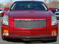 Billet Grille Insert 03 - 07 Cadillac CTS Front Grill Combo Aluminum 2pcs