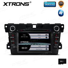 "7"" Touchscreen Car Stereo Radio RDS CD DVD 8GB TF GPS Navi BT 5.0 for Mazda CX-7"