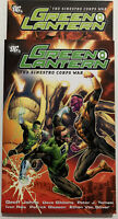 Green Lantern The Sinestro Corps War, Vols. 1 & 2, DC 2007 TPB Graphic Novels
