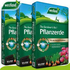 Westland 3 x 50 l Pflanzerde »Die Nummer 1 für den Garten in England«