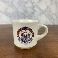 Vintage Circus Circus Hotel and Casino Reno Las Vegas Coffee Souvenir Cup Mug