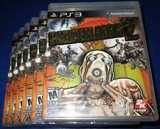 Lot of 6 Borderlands 2 Sony PlayStation 3 *Factory Sealed! *Free Shipping!