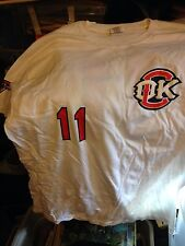 Oklahoma City Redhawks -#11 Jersey T-Shirt-New Castle Gaming Center-Xl