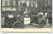 NANTES - N°6 - Mi-Carême 1925 - M et Mme Double face font de l'auto