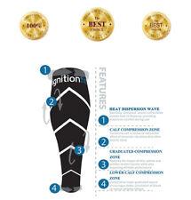 Calf Compression Sleeves Men & Women, 1 PAIR Leg Sleeve Running CrossFit Sleeves