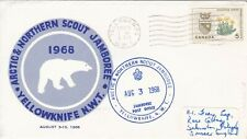 SC142) Canada Arctic & Northern Scout Jamboree 1968, cachet cover,