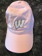 Wisconsin Badgers Pink Women's Cap