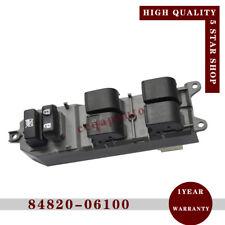 Power Window Master Switch fits Toyota Camry ACV40 2AZFE ACV41 1AZFE 84820-06100