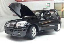 1:24 Escala Negro Rastar de Metal V Detallado Modelo Mercedes S Clase Gl GL350