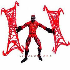 """Spider-man Classic Carnage 6"""" Action Figure Capture Webs Legends Fk369"""
