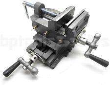4 Cross Drill Press Vise X Y Clamp Heavy Duty Machine Slide Metal Milling 2 Way