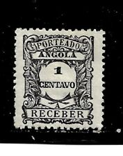Angola Stamp - Scott #J22/D2 1c  Mint/LH-Postage Due- 1921-OG*