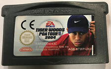 Tiger Woods PGA Tour 2004 Cartridge Only (Nintendo Game Boy Advance, 2003)