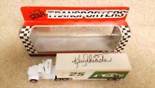 Autographed Vintage 1990 Matchbox Super Star Transporters Ken Schrader Hendrick