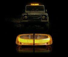 Zento Deals Vehicle Bright Amber 240-LED Strobe Warning Flashing Light
