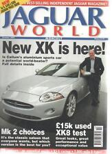JAGUAR WORLD MAGAZINE October 2005 New XK Is Here AL