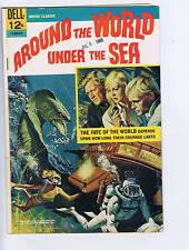 Around the World Under the Sea #12-030-612 Dell Pub 1966