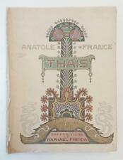 Thais by Anatole France (Illustrated by Raphael Freida) 1924 Limited Edition