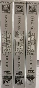 Star Wars Trilogy VHS Special Edition Widescreen Digitally Mastered PAL Region 4
