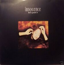 """Innocence - Let's Push It (Big Beat Mix / Belief Mix) / Silent Voice - 12"""" 1990"""