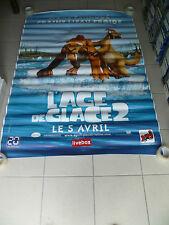 AFFICHE AGE DE GLACE ICE AGE 2 4x6 ft Bus Shelter Original Movie Poster 2006