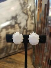 Kendra Scott Pearl White Morgan Studs Earrings
