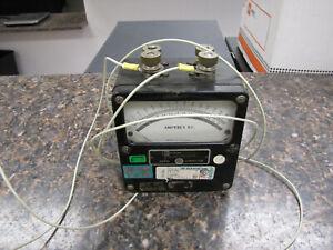 Vintage Daystrom Weston Electric Instrument Model 931 Amperes DC - USA