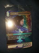 Final Fantasy Brave Exvius Fan Festa FFTCG Lasswell Foil TCG Promo Card Opus VII