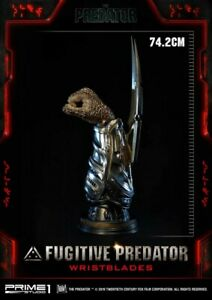 """Prime 1 Studio The Predator 29"""" Scale Fugitive Predator WristBlades Maquette"""