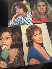 More details for 4 x vintage photo/postcards of actresses - rotalfoto milan