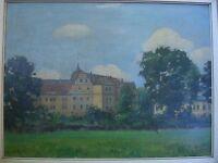::BURG SCHLOSS Kloster Weltenburg 1900 IMPRESSIONIST  LANDSCHAFT ANTIK