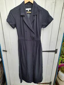 Ines de la fressange For Uniqlo Blue Midi Dress Size XS