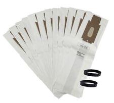 12 Oreck Cc Allergen Vacuum Cleaner Bags + 2 Belts Fit Xl Xl2 Upright Models