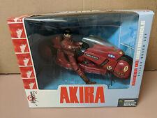 New McFarlane Toys Akira Kaneda on Motorcycle Deluxe Boxed Set Mint Nos 2001