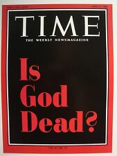 IS GOD DEAD ? APRIL 8 1966 TIME MAGAZINE COVER PAGE PHOTO PRINTED  4X6 GLOSSY