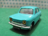 Vintage  SIMCA 1000 1967  - 1/43  Norev plastique n°57 - France 1969