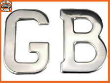 Quality Stainless Steel Self Adhesive GB Badge Emblem LANDROVER DEFENDER