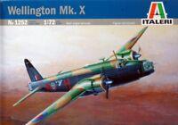Italeri 1:72 WWII Wellington Mk.X - Plastic Aircraft Model Kit #1252