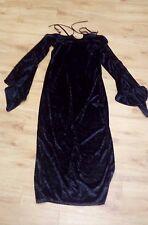 Blackout/XL/Velvet Dress/epaules ouvertes/Noir - 1005