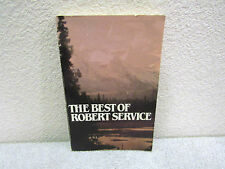 Vintage 1940 The Best of Robert Service, Collection of Popular Verses Pb Book