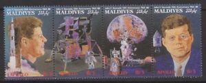 MALDIVE ISLANDS SG1299a 1989 SPACE ACHIEVEMENTS MNH