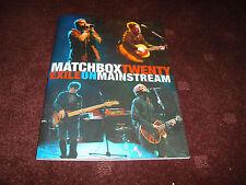 MATCHBOX TWENTY EXILE ON MAINSTREAM TOUR CONCERT BOOK