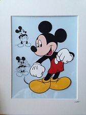 Disney - Mickey Mouse - Through The Years - Hand Drawn & Hand Painted Cel